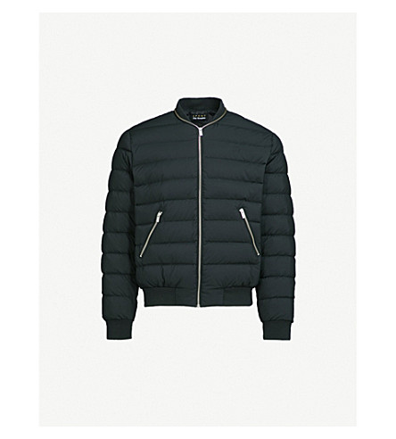 Stand Collar Shell Down Jacket by The Kooples