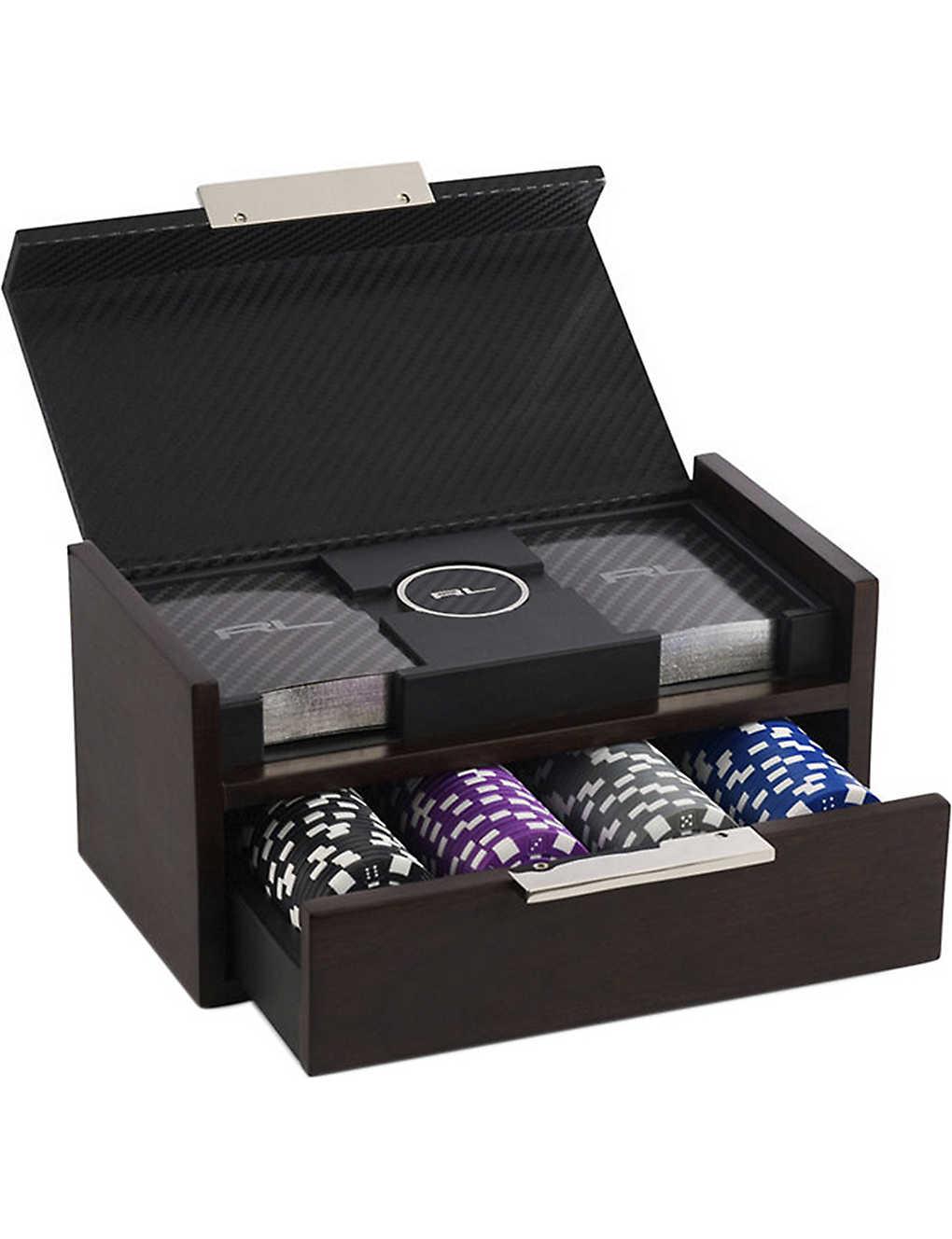Ralph Lauren Home Sutton Wood And Leather Poker Set Selfridges Com # Muebles Ralph Lauren Espana