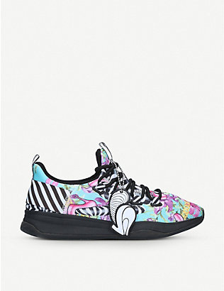 ALDO: MX 3B mesh-knit multi-coloured trainers