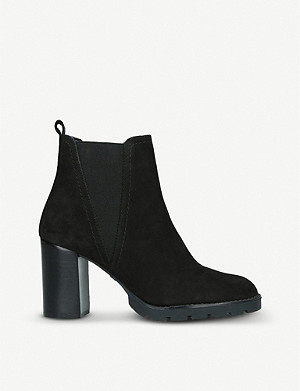 ALDO Galorevia suede heeled Chelsea boots