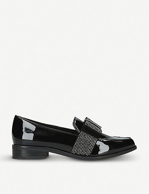 9193fd28279c ALDO Nerillan rhinestone-embellished patent loafers