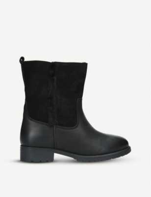 ALDO Onerama faux-fur trimmed leather boots