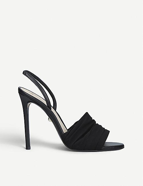 02fcbe83f ALEVI MILANO Olivia mesh slingback sandals