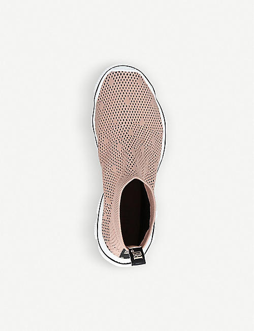 RED VALENTINO Stretch-knit trainers