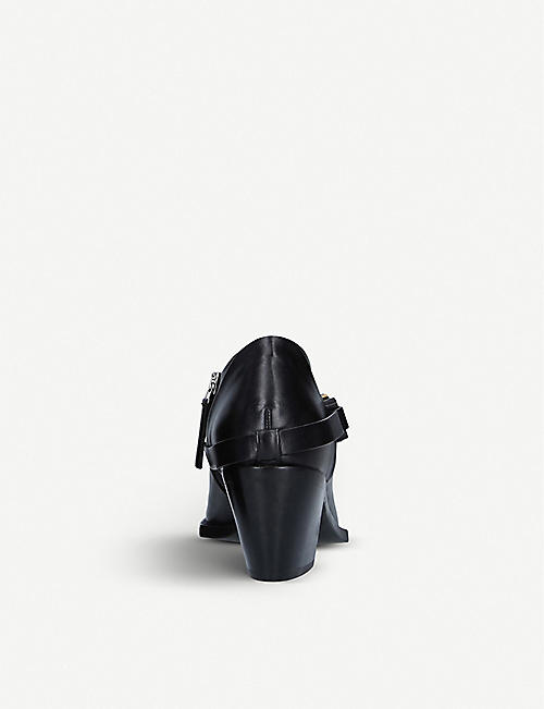 ALYX Block-heel leather heeled ankle boots