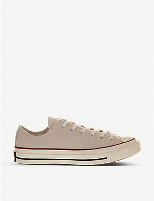 CONVERSE: All Star Ox 70's low-top canvas trainers