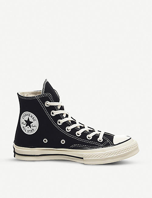 CONVERSE: All Star Ox 70's high-top canvas trainers