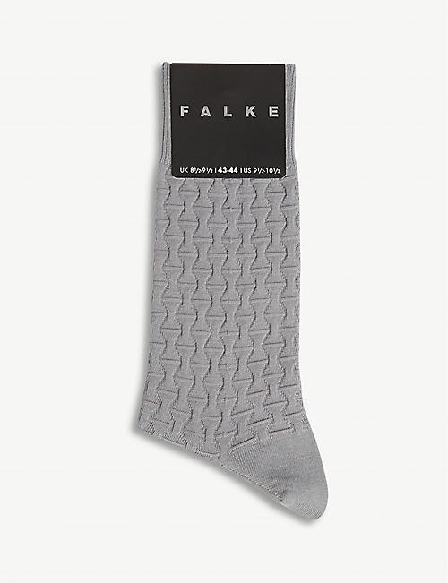 55513206cc2 FALKE Rhinoceros cotton-blend socks