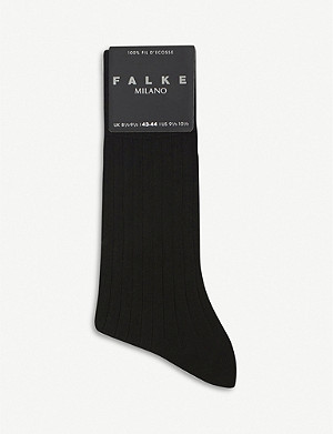 FALKE Milano cotton-blend socks