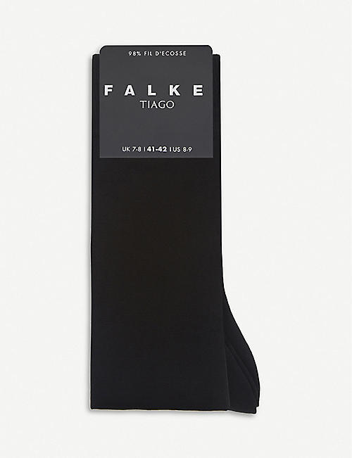FALKE: Anti-slip stretch-cotton knee-high socks