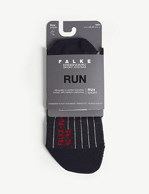 FALKE RU4 cotton-blend running socks