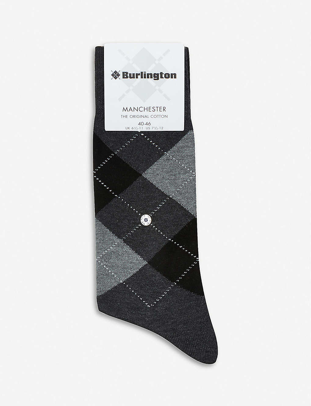 Burlington Mens Socken Dublin M SO