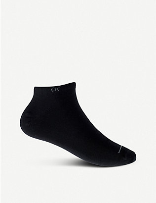 CALVIN KLEIN: Pack of three casual socks