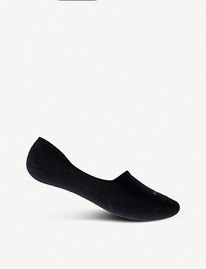 CALVIN KLEIN No Show cotton-blend socks