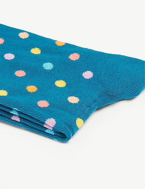 HAPPY SOCKS Polka dot cotton-blend socks