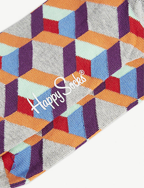HAPPY SOCKS Graphic print socks