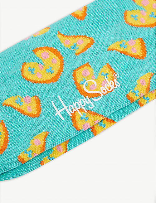 HAPPY SOCKS Pizza print socks