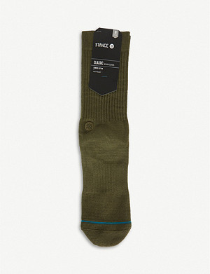 STANCE Icon stretch-combed cotton socks