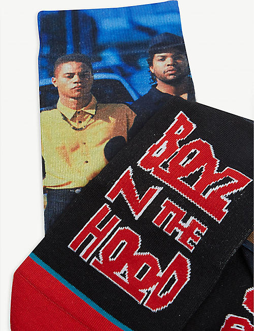 STANCE Anthem Boyz N The Hood cotton-blend socks