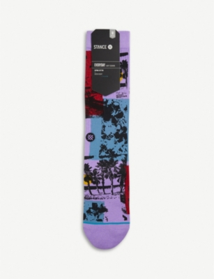 STANCE Habana supima cotton-blend socks