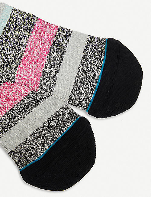 STANCE Munga striped combed-cotton socks