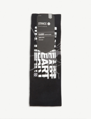 STANCE Cotton-blend socks
