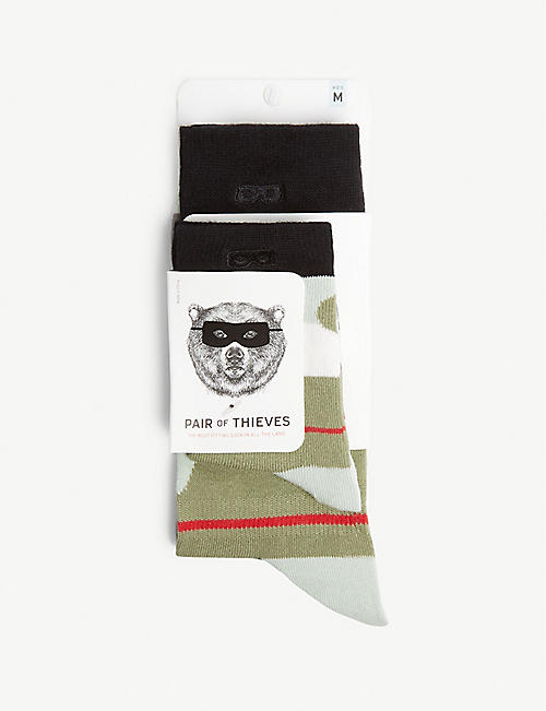 PAIR OF THIEVES Dad and Kid socks