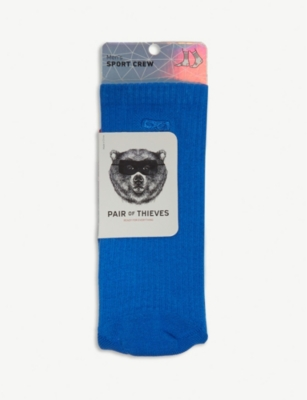 PAIR OF THIEVES Cotton-blend sport crew sock