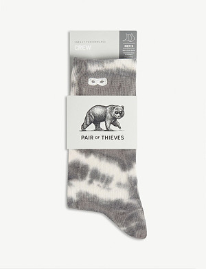 PAIR OF THIEVES Tie-dye crew socks