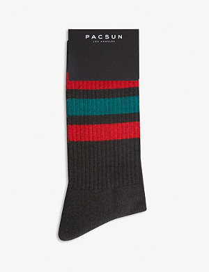 PACSUN Gym Stripe socks