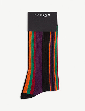 PACSUN Striped socks
