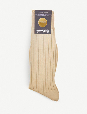 PANTHERELLA Sea Island cotton socks