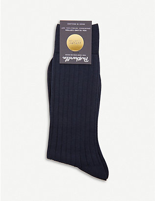 PANTHERELLA: Sea Island organic cotton socks