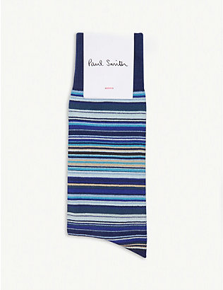PAUL SMITH: Skinny stripe socks