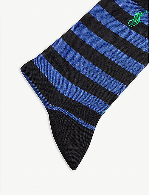 9cdbc312fb8c1 POLO RALPH LAUREN Striped cotton-blend set of two socks