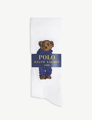 POLO RALPH LAUREN Branded socks set of three