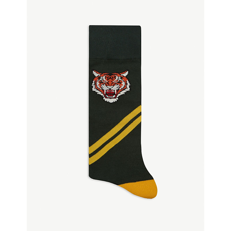 Polo Ralph Lauren Socks LOGO AND TIGER COTTON SOCKS SET OF TWO