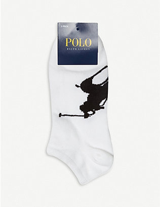 POLO RALPH LAUREN: Pack of three socks