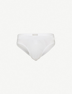 HANRO Sea Island slim-fit cotton briefs