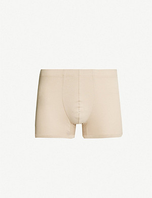 HANRO Sea Island slim-fit cotton trunks