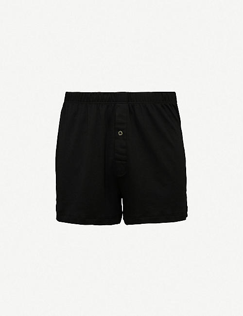 HANRO: Sea Island relaxed-fit cotton boxers