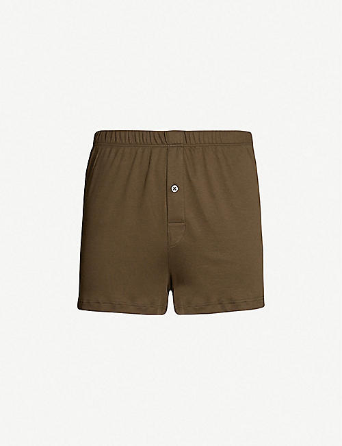 HANRO Sea Island relaxed-fit cotton boxers