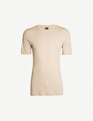 HANRO Sea Island cotton-jersey T-shirt