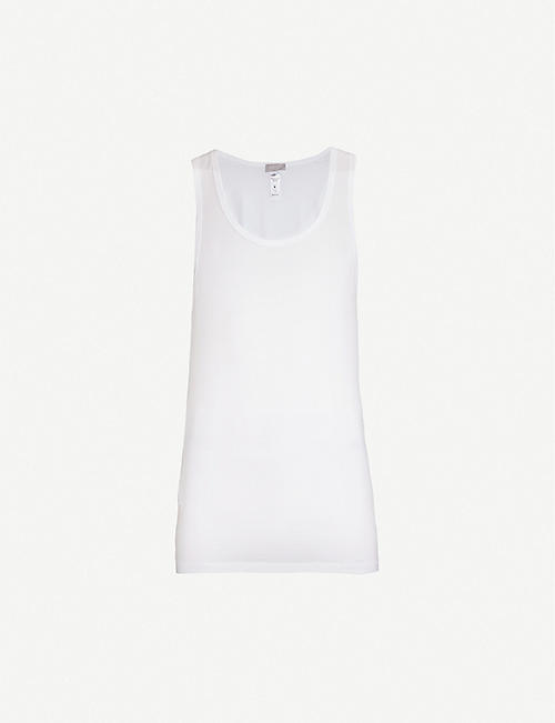 HANRO: Cotton Superior cotton-blend vest top
