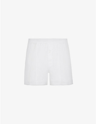 HANRO: Sport-fit cotton boxers