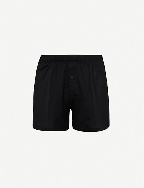 HANRO Sporty regular-fit cotton boxers