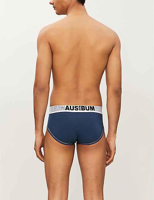 AUSSIEBUM EnlargeIT slim-fit stretch-cotton briefs