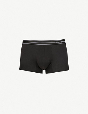 ERMENEGILDO ZEGNA Core slim-fit stretch-cotton trunks