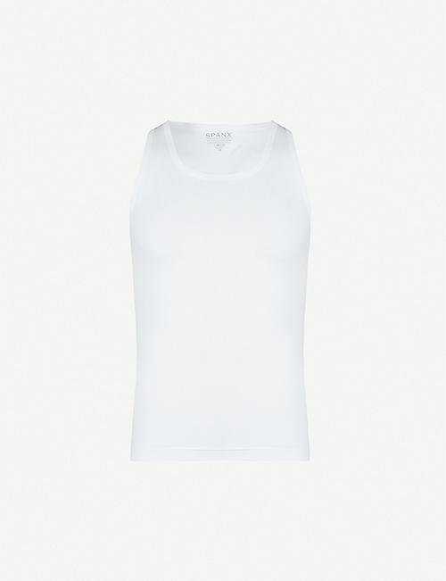 SPANX: Cotton Compression vest top