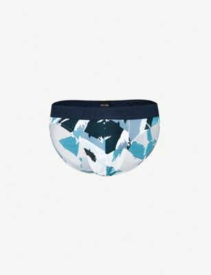 HOM Abstract-print briefs